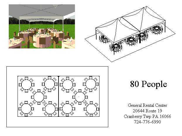 20 X 40 Tents For Rent General Rental Center