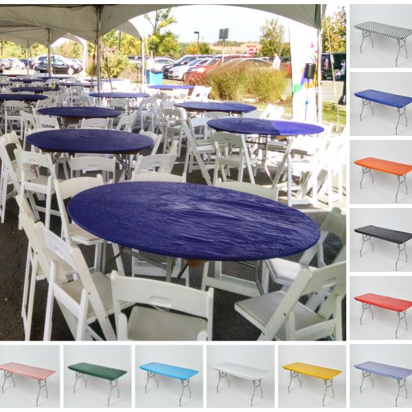 Plastic Table Covers and Skirting