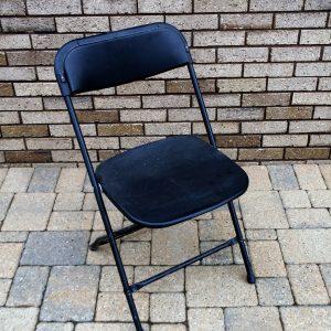 Black Vinyl Chair