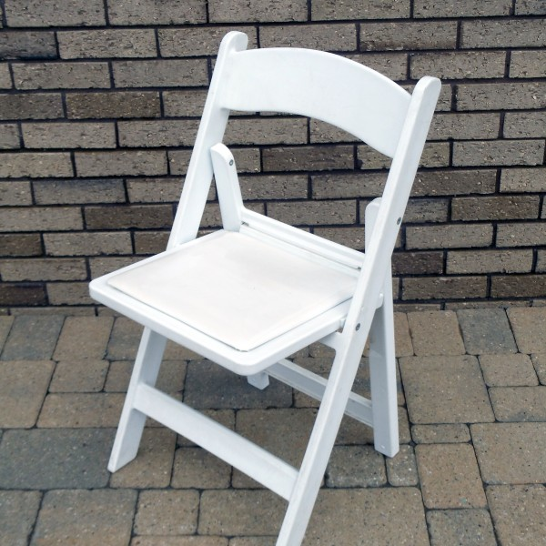 White Resin Chair