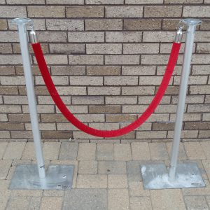 Red Rope Stanchions