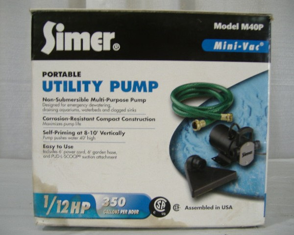Utility Pump Non-Submersible