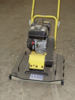 Vibratory Plate Compactor with Rollers