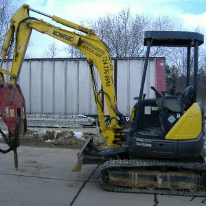 Excavator/Skid Jackhammer Attachment