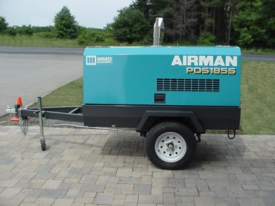Air Compressor 175CFM (Towable)