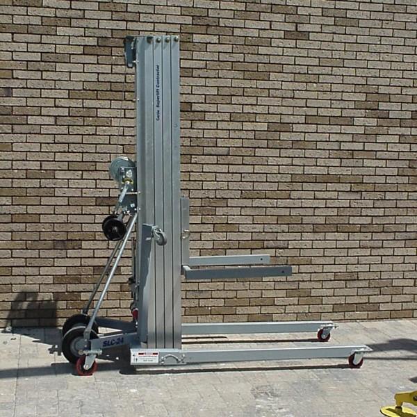 Material Lift (24' High/650 lbs max)