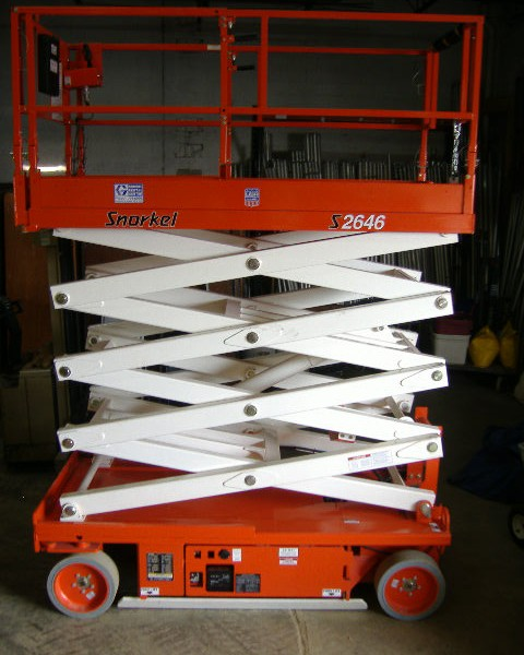 Scissors/26' /46'' Platform Height (1000 lb)