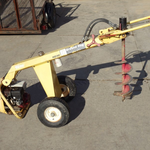 machine auger rental