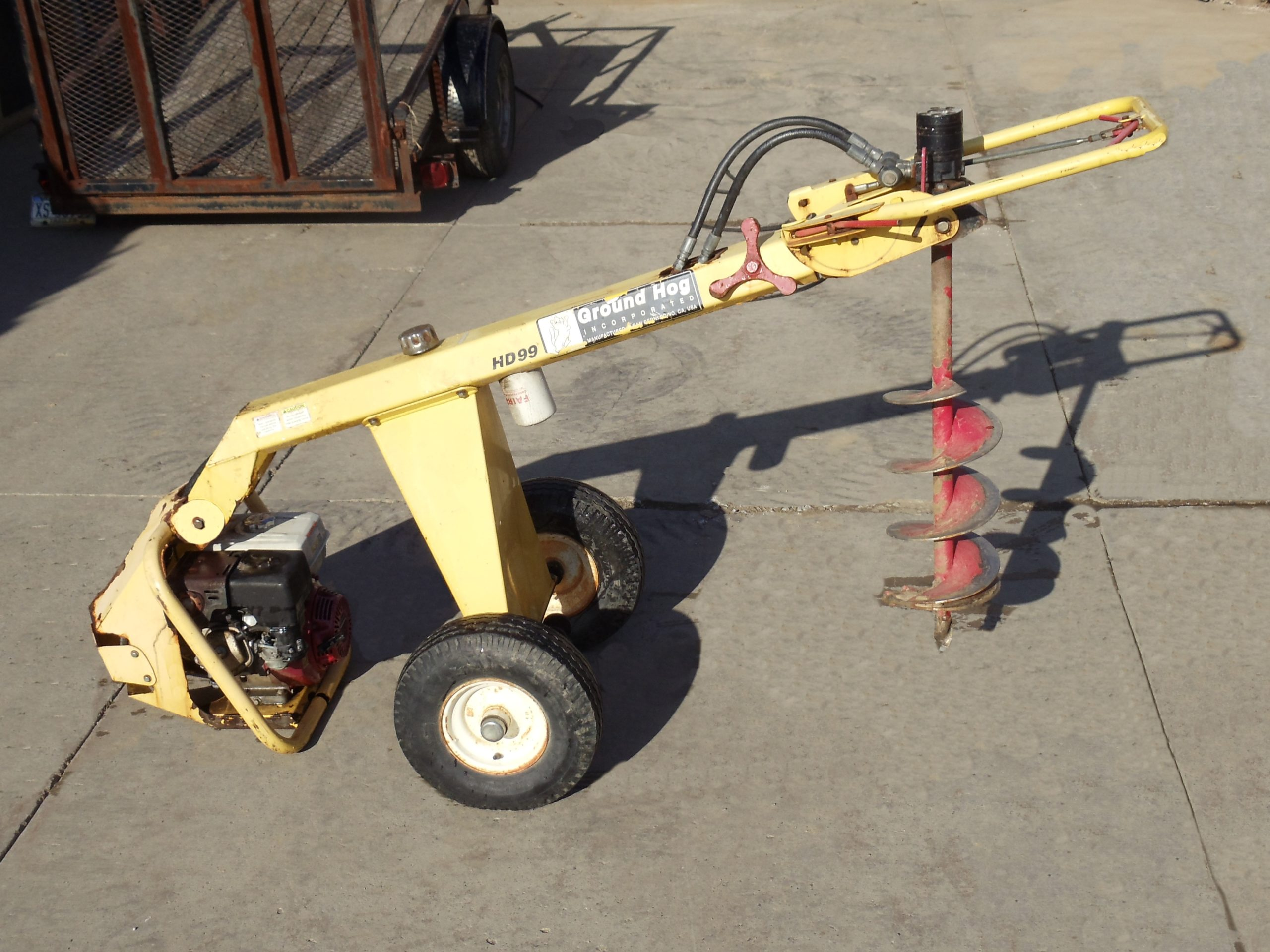 Hydraulic Auger with Reverse