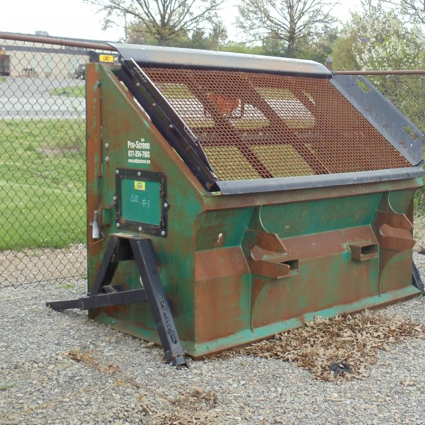 Topsoil Screener Skidloader Attachment
