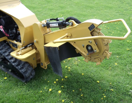 Walk-Behind Stump Grinder - Hydraulic