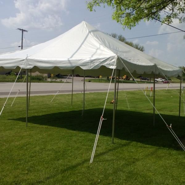 20 x 20 Pole Tent