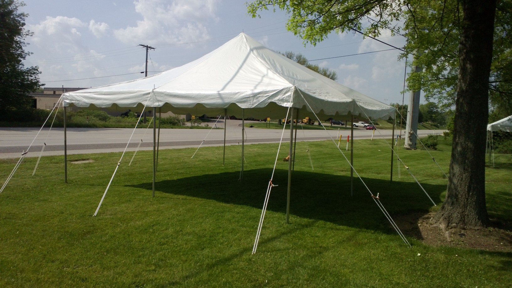 20 x 20 Pole Tent & 20 x 20 Pole Tent | General Rental Center