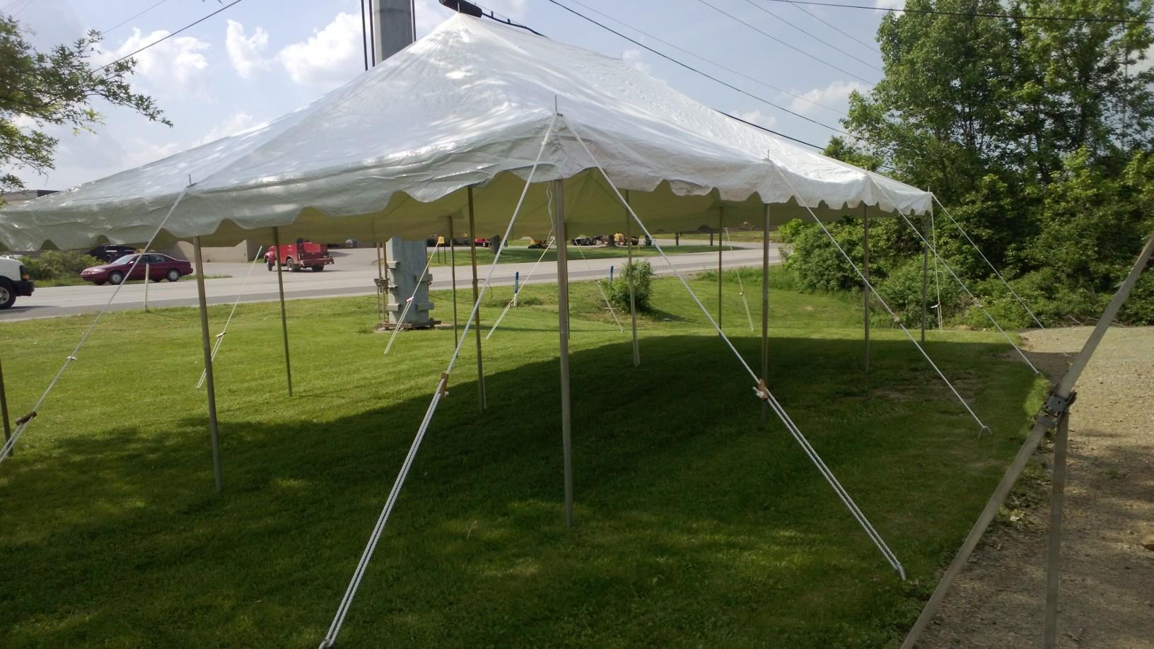 20 x 30 Pole Tent & 20 x 30 Pole Tent | General Rental Center