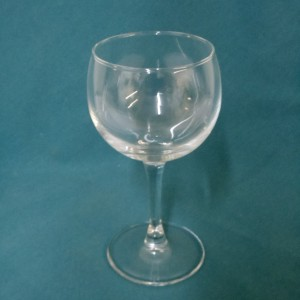 Ribbed Water Goblet