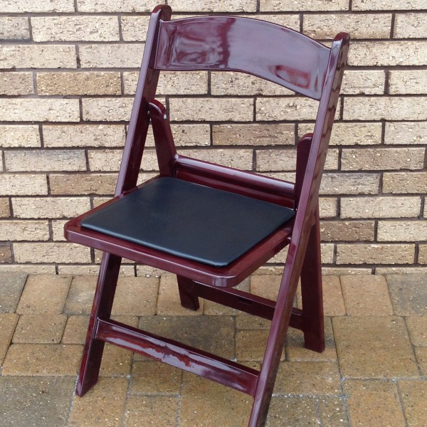 Mahogany Resin Chair