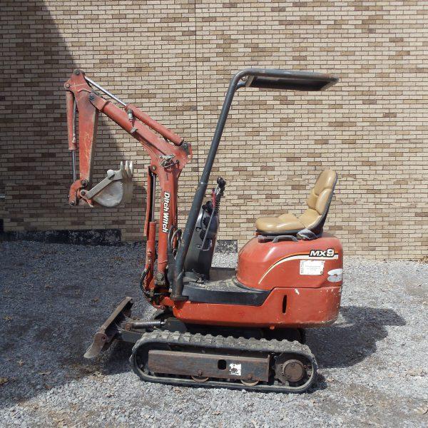 Ditchwitch Mx9 Excavator