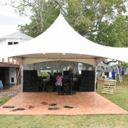 tent, dancefloor, light, linens