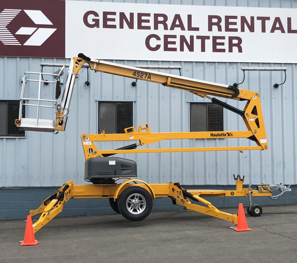 Towable Boom Lift For Rent General Rental Center