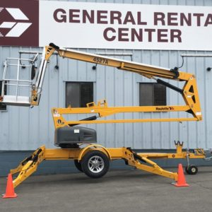 Towable Boom Lift