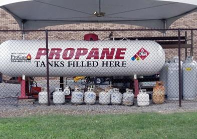 propane refills cranberry township, pa