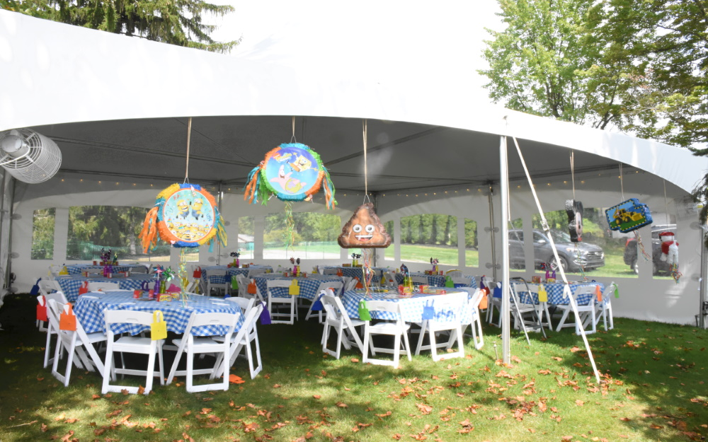backyard party rental